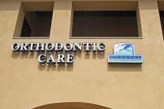 Coastal Orthodontic Care Channel Letter Sign