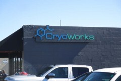 Cryoworks Channel Letter Sign, Ventura, CA