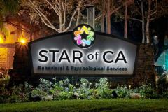 Star of CA Illuminated Monument Sign in Ventura, CA