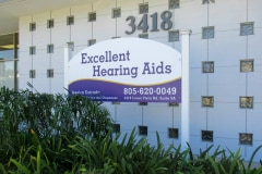 Excellent Hearing Aids Post & Panel Monument Sign in Ventura, CA