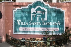 Monument Sign Villa Santa Barbara