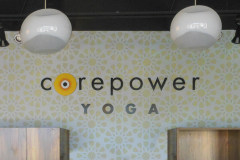 Corepower Yoga Indoor Logo Sign