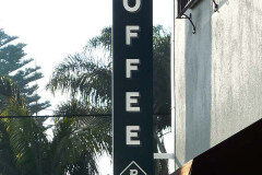 Prospect Coffee Blade Sign