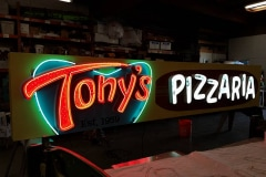 Tony's Pizzaria Custom Neon Sign Ventura, CA