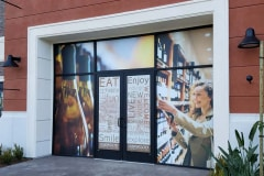 Oakwood Communities Wine Store Custom Window Graphics in Oxnard, CA