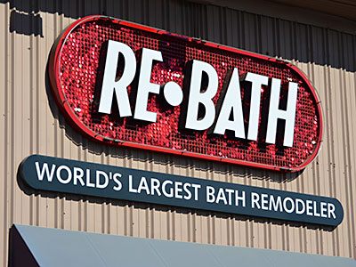 Custom Sign Design - ReBath Day Shot