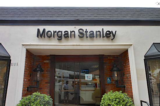 Morgan Stanley Channel Letter Sign